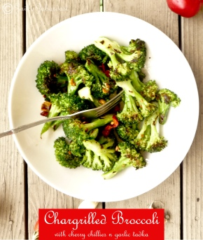Chargrilled Broccoli