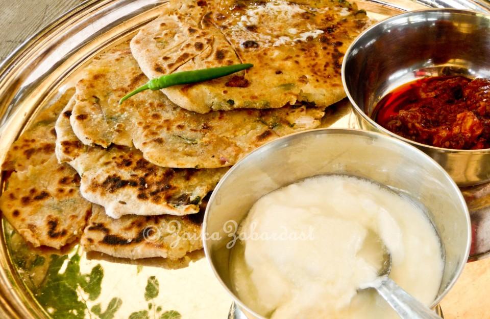 Aloo Paratha aka Potato stuffed Indian flat bread – Every ...