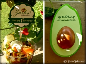 Mexican dip and wholly giveaway