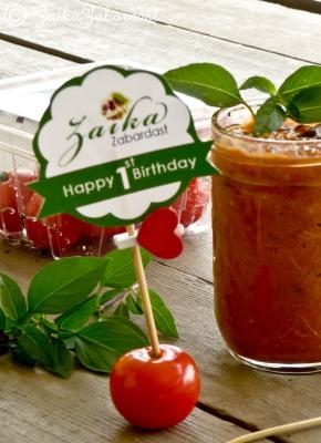 Lipman tomato chutney and giveaway