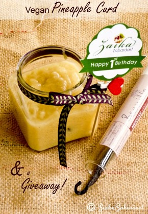 Pineapple curd