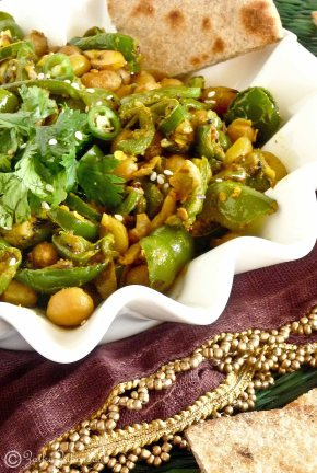 peanut Pepper stir fry