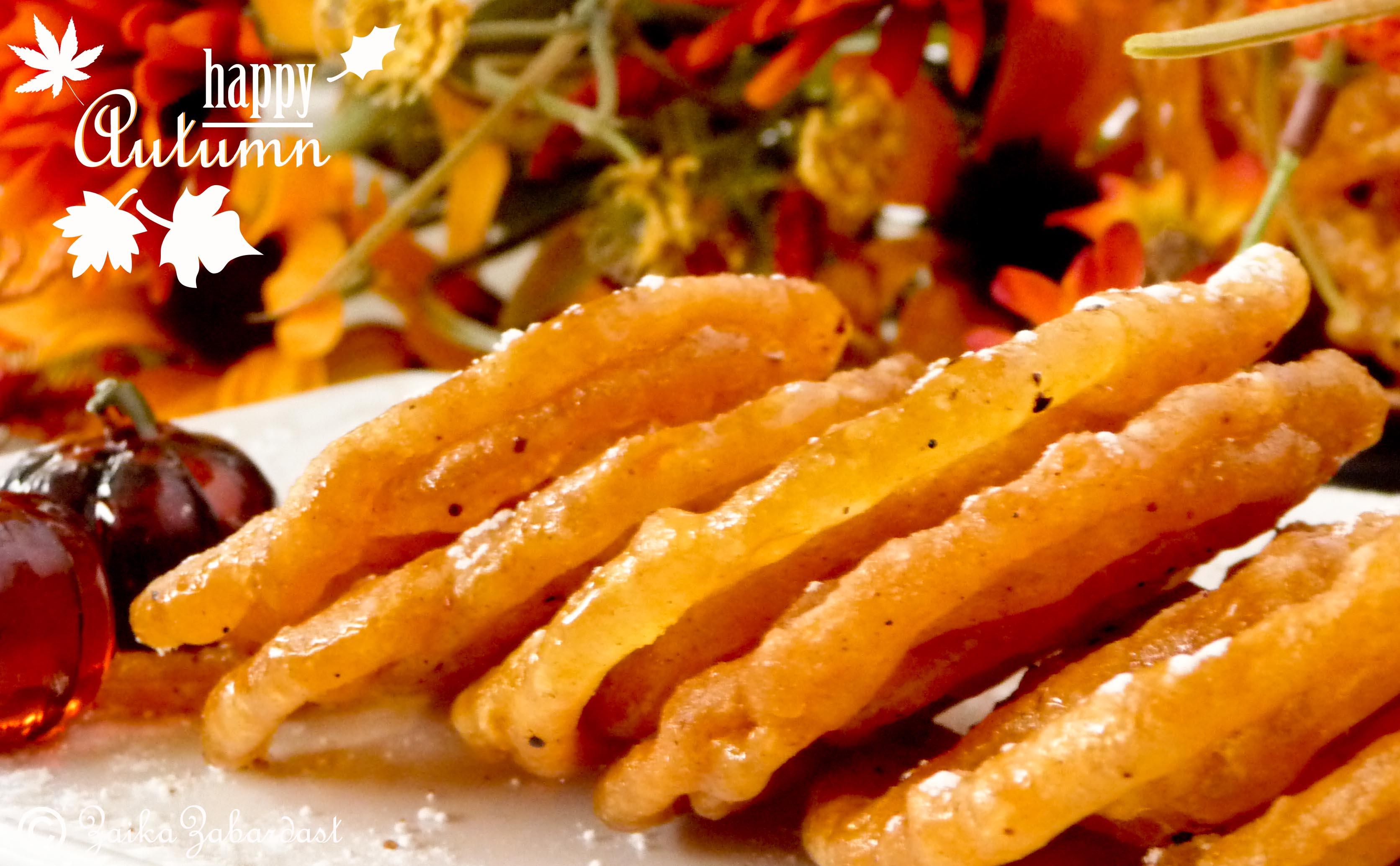 Pumpkin jalebi popular indian dessert with an autumn twist cant forumfinder Images